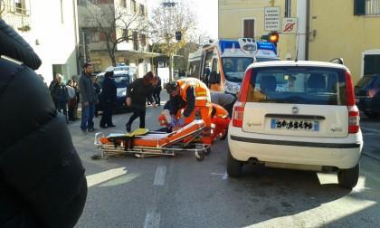 Anziana investita da un'auto a Calcinelli. E' grave