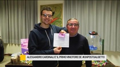 Alessandro Cardinali è il primo vincitore di #unpostoalgetto – VIDEO