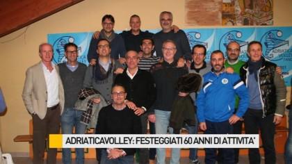 Adriaticavolley: festeggiati 60 anni di attività – FOTO – VIDEO