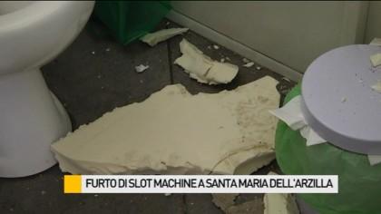 Furto di slot machine a Santa Maria dell'Arzilla – VIDEO