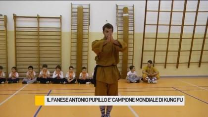 Il fanese Antonio Pupillo è Campione Mondiale di Kung Fu – VIDEO