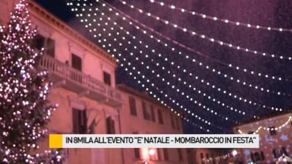 """Grande successo per """"E' Natale – Mombaroccio in festa"""" – VIDEO"""