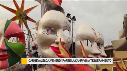Carnevalesca, venerdì  parte la campagna tesseramenti – VIDEO