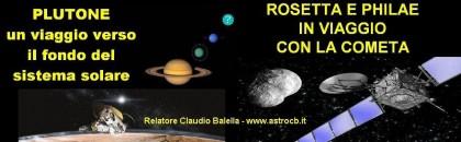 """""""Plutone ai confini del sistema solare"""", venerdì una conferenza"""