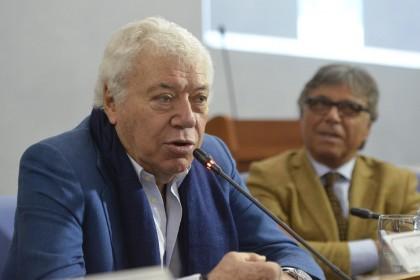 conferenza stampa di presentazione della Coppa Davis presso Adriatic Arena di Pesaro