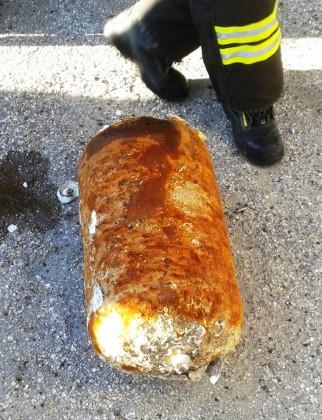 Bombola scambiata per bomba. Allarme al porto di Pesaro