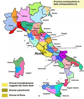 Il Vaticano studia piano per ridurre numero delle Diocesi