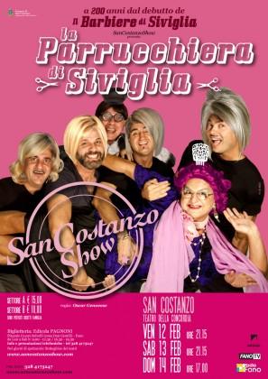 """""""La Parrucchiera di Siviglia"""": il nuovo spettacolo del San Costanzo Show"""