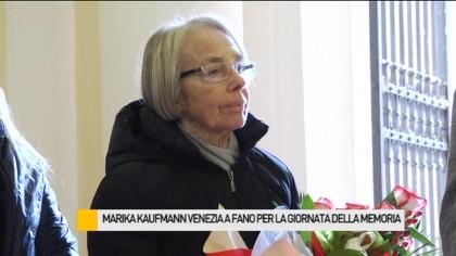 Giornata della Memoria, a Fano la testimonianza della vedova di Shlomo Venezia – VIDEO