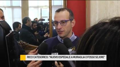 """Nuovo ospedale, Ricci: """"Muraglia e Fosso Sejore uniche due ipotesi"""" – VIDEO"""