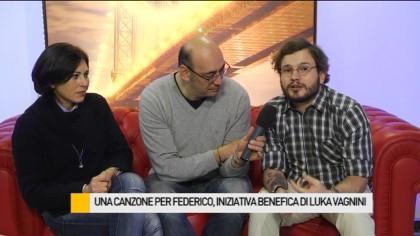 Una canzone per Federico, iniziativa benefica di Luka Vagnini – VIDEO