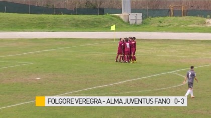 Folgore Veregra  –  Alma Juventus Fano  0 – 3 – VIDEO