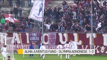 Alma Juventus Fano  – Olympia Agnonese   1 – 0   – VIDEO