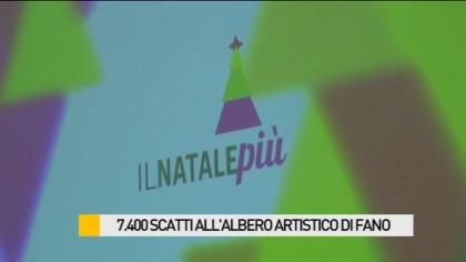 7.400 scatti all'albero artistico di Fano – VIDEO