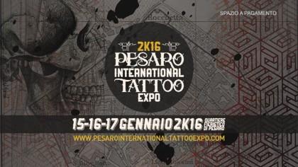 Pesaro International Tattoo Expo 2016