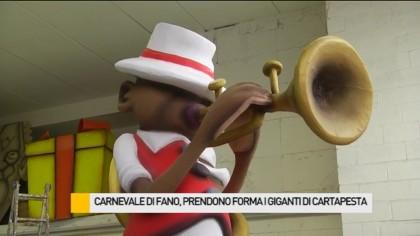 Carnevale di Fano, al lavoro i maestri carristi – VIDEO