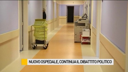 Nuovo ospedale, continua il dibattito politico – VIDEO