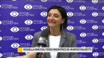 Rossella Omiccioli è la terza vincitrice di #unpostoalgetto – VIDEO