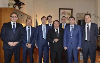 Delegazione bielorussa incontra le aziende marchigiane