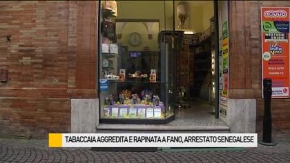 Tabaccaia aggredita e rapinata a Fano, arrestato senegalese – VIDEO