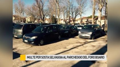 Multe per sosta selvaggia al parcheggio del Foro Boario – VIDEO