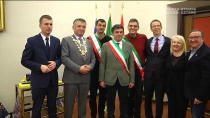 Conferenza stampa delegazioni estere al Carnevale di Fano