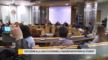 Legalità, i finanzieri incontrano gli studenti – VIDEO