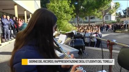 """Giorno del Ricordo, rappresentazione degli studenti del """"Torelli"""" – VIDEO"""