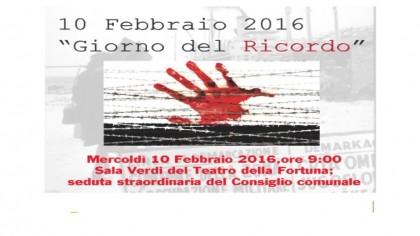 Giorno del Ricordo, a Fano la testimonianza dello scrittore Diego Zandel – VIDEO