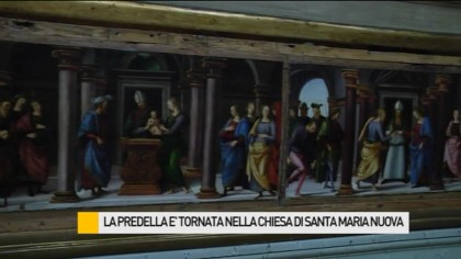 La Predella è tornata a Fano nella Chiesa di Santa Maria Nuova – VIDEO