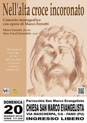 """""""Nell'alta croce incoronato"""", concerto a Fano del New Vocal Ensemble di Senigallia"""