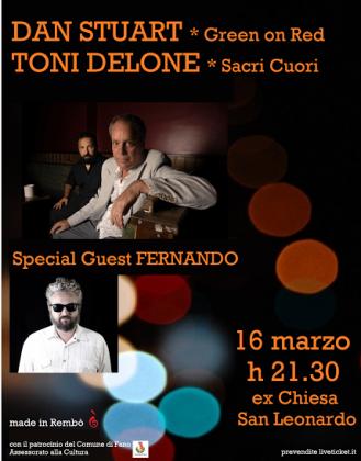 Dan Stuart e Toni Delone in concerto Fano