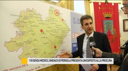 118 senza medico, esposto alla Procura del sindaco di Pergola Baldelli – VIDEO