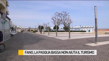 Fano, la Pasqua Bassa non aiuta il turismo – VIDEO