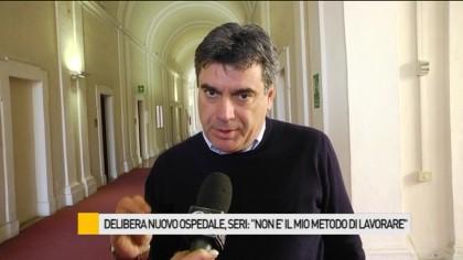 """Delibera nuovo ospedale, sindaco Seri: """"Non è questo il modo di lavorare"""" – VIDEO"""