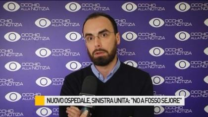 """Nuovo ospedale, Sinistra Unita: """"Dalla Regione un altro passo falso"""" – VIDEO"""