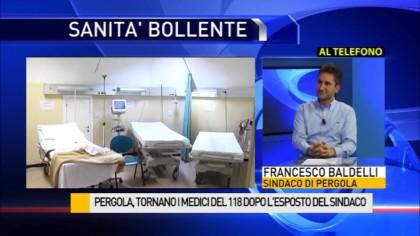 Pergola, tornano i medici del 118 dopo l'esposto del Sindaco Baldelli – VIDEO