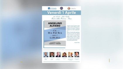 Alfano presenta il suo ultimo libro alla Sala verdi del Teatro della Fortuna – VIDEO