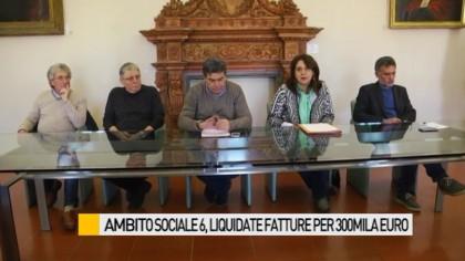 Ambito Sociale 6, liquidate fatture per oltre 400mila euro – VIDEO
