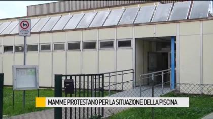 Mamme protestano per la situazione della Piscina Dini Salvalai  – VIDEO