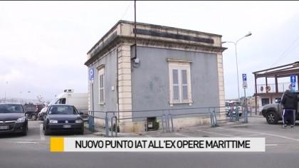 Nuovo punto IAT all'ex Opere Marittime – VIDEO