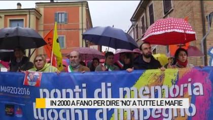 In 2000 a Fano per dire 'no' a tutte le mafie – FOTO – VIDEO
