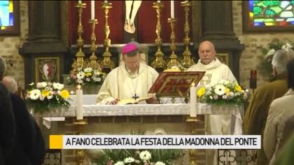 Celebrata a Fano la festa della Madonna del Ponte  –  VIDEO