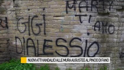 Atti vandalici al Pincio di Fano, ecco il valore delle mura augustee – VIDEO