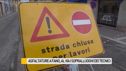 Asfaltature a Fano, al via i sopralluoghi dei tecnici comunali – VIDEO