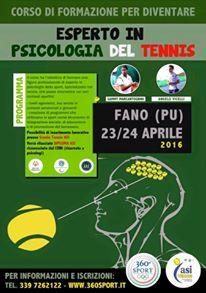 A Fano un Corso di Formazione per maestri di tennis e psicologi
