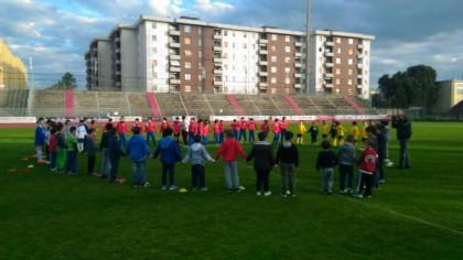 """""""Fano per la Vita"""", il raggruppamento Mini Rugby fa festa allo stadio Mancini"""