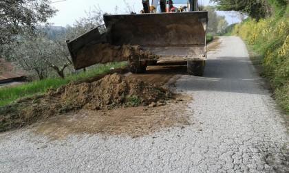 Cartoceto, al via un intervento di prevenzione e manutenzione delle strade