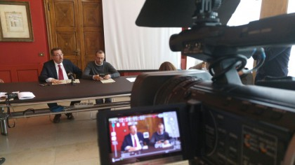 Fusione Pesaro-Mombaroccio, Ricci: «Riforma per innovare, questo è il futuro»