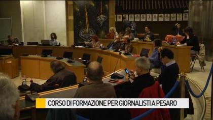 Corso di formazione per giornalisti a Pesaro – VIDEO